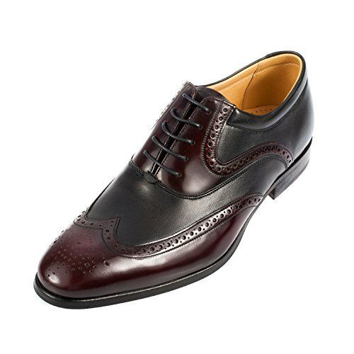 Barker Men's Bakewell Leather Oxford Brogue Shoe (399677) #oxfordshoesoutfit