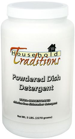 Powdered Dishwasher Detergent With Enzymes - Non-Toxic and FREE of Chlorine, Phosphates, Fillers or Fragrances. AND it gets your dishes sparkly clean!: Households, Powdered Dishwasher, Dishwasher Detergent, Traditions Powdered, Household Traditions, Products, Dishwashers