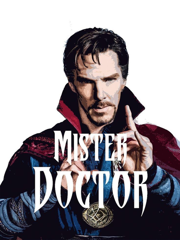 Doctor Strange artwork inspired by joke from the trailer