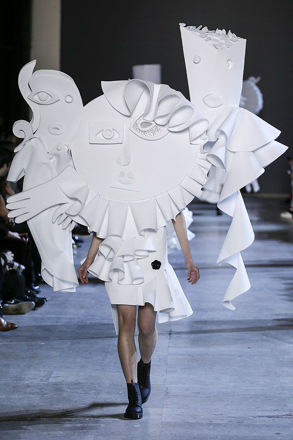So Picasso: Viktor & Rolf Couture Spring 2016   Hint Fashion #ss16 Magazine