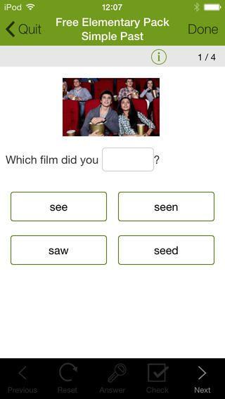 LearnEnglish Grammer er gratis. British council har lavet denne grammatik app.