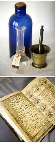 .The Alchemist's tools