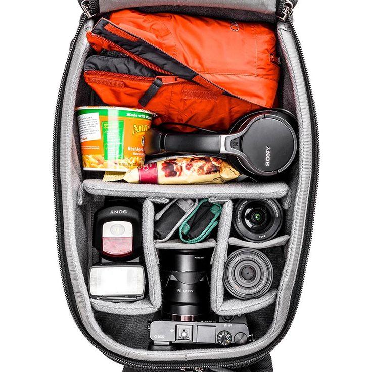 Городской походный рюкзак для беззеркальных камер + (Видео) | Design Zoom
