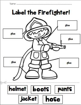 Pin on Fire safety preschool crafts