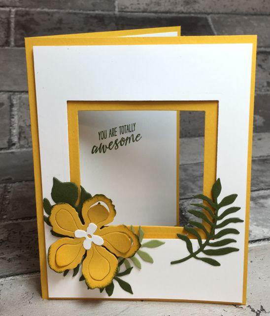 Botanical Blooms Birthday Card