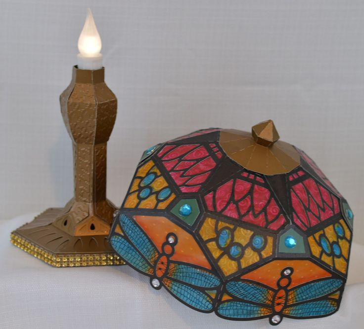 Boho Butterflies Tiffany Style Lamp From SVGCuts