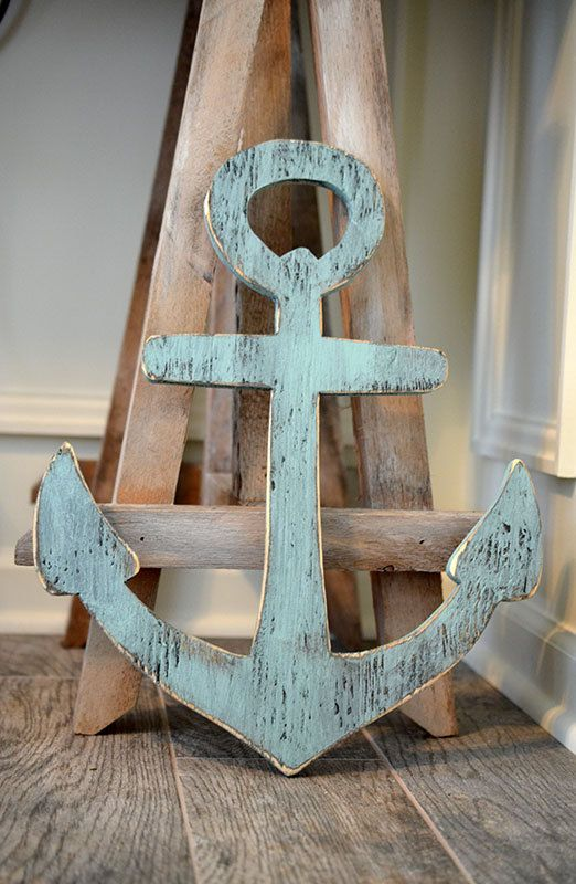 Nautical Wall hanging. Adorbs! For my nautical bathroom!