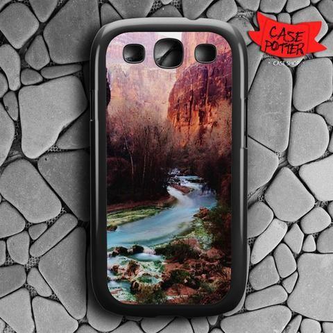 Havasu Canyon Creek Samsung Galaxy S3 Black Case