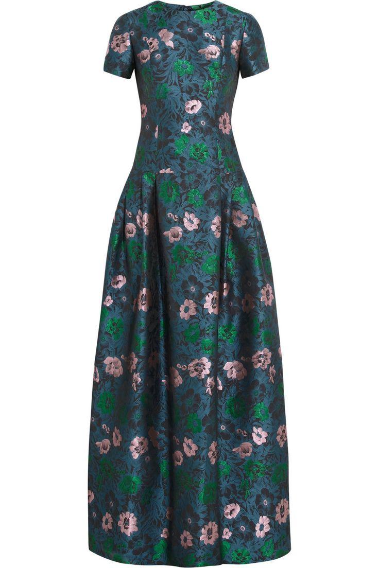 Erdem - Anusha jacquard gown