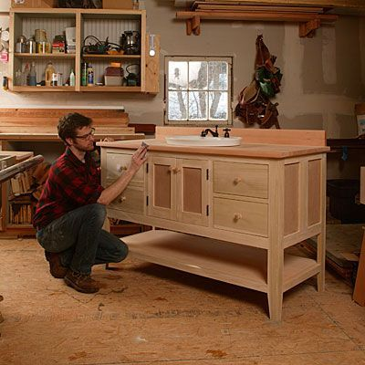 How to Build Your Own Bathroom Vanity - Fine Homebuilding ...