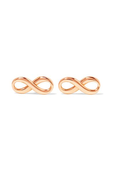 Tiffany & Co. - Infinity 18-karat Rose Gold Earrings - one size