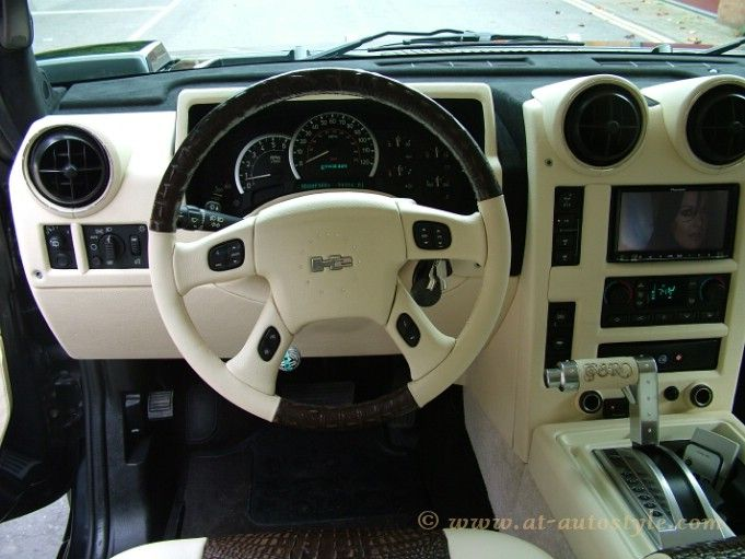 Hummer H2 interior | AT Autostyle