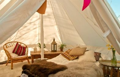 Plush Tents, Glamping in West Sussex