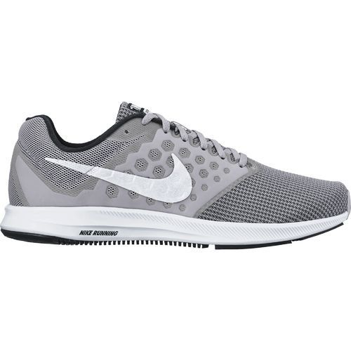 Nike Men's Downshifter 7 Running Shoes (Wolf Grey/White/Black, Size 11.5) - Men's Running Shoes at Academy Sports