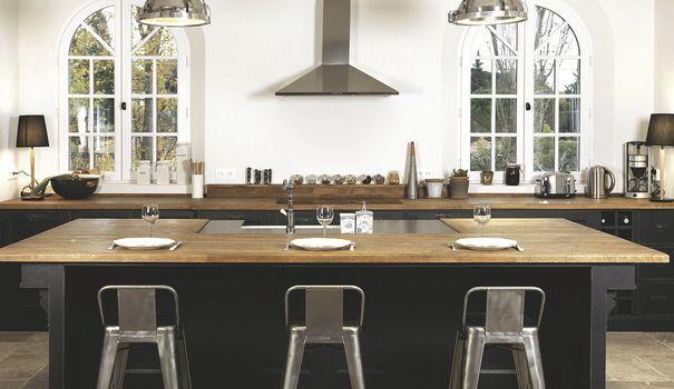 1000 id es sur le th me comptoirs de cuisine en bois sur for Recherche tabourets cuisine