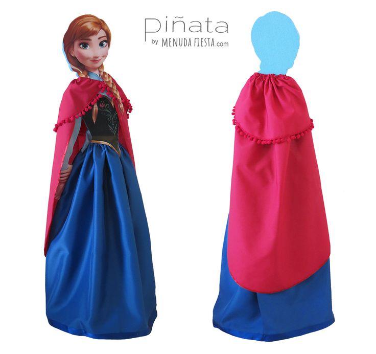 ¿Elsa? (Toc,toc,toc…)  ¿Y si hacemos un muñeco? Ven vamos a jugar...  #menudafiesta #piñartista #piñataespaña #party #piñataanna #frozen