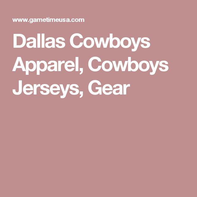 Dallas Cowboys Apparel, Cowboys Jerseys, Gear