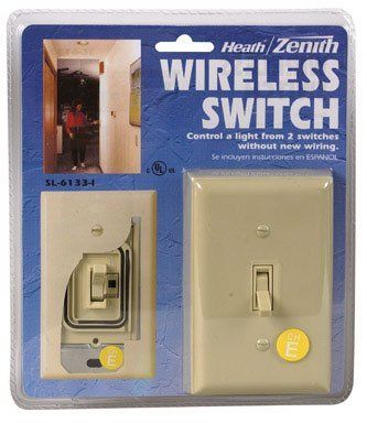 Heath Zenith Bl 6133 La Basic Solutions Wireless Switch