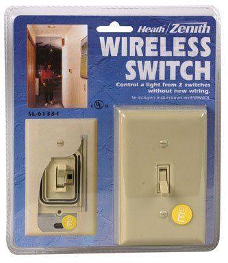 Heath Zenith Bl 6133 La Basic Solutions Wireless Switch