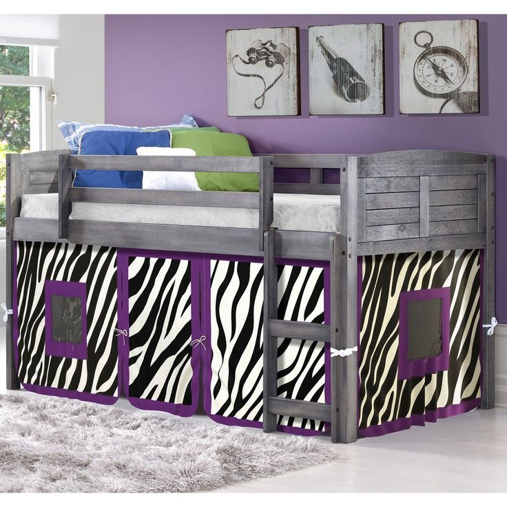 Shared Bedrooms For Girls Big Bedrooms For Girls Blue Big Boy Bedroom Ideas Zebra Bedroom Furniture: Best 25+ Low Loft Beds Ideas On Pinterest