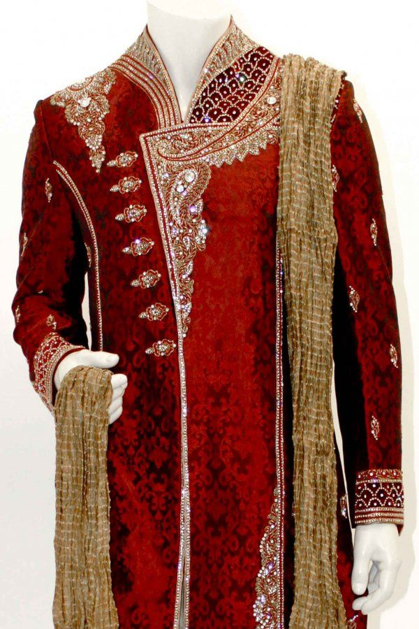 Sherwani Gold | Buy Sherwani, Wedding Shervani, Latest Sherwani, Traditional Men's ...