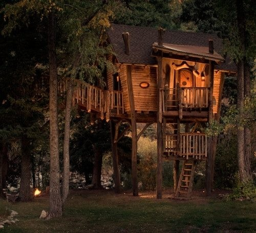 Best Cabins Treehouse Images On Pinterest Tree House Plans - Contemporary banyon treehouse california