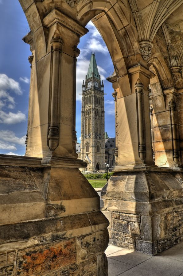 From the parliamentary East Block, Ottawa, Ontario, Canada