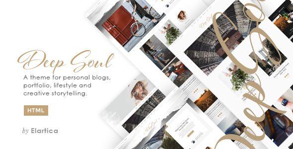 cool Deep Soul - Responsive HTML Weblog and Shop Theme (Inventive)