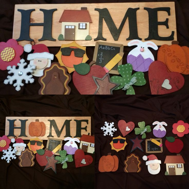 Interchangeable sign system. https://www.facebook.com/primitivewoodngiggles/