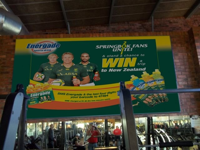 Gym Billboard for Energade