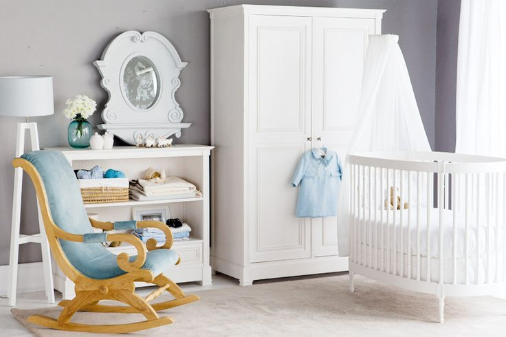 Caprice and new classic baby room