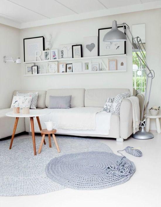 25 beste idee n over ronde vloerkleden op pinterest toegangs tapijt natuurlijk interieur en deco - Ikea tapijt salon ...
