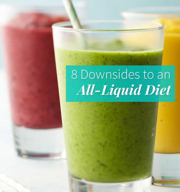 8 Reasons Why Smoothies and Juice Cleanses Aren't Always the Best Idea