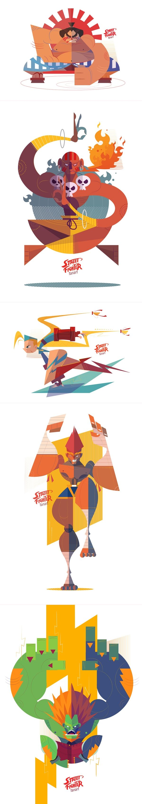 Street Fighter by Phuwadon Thongnoum