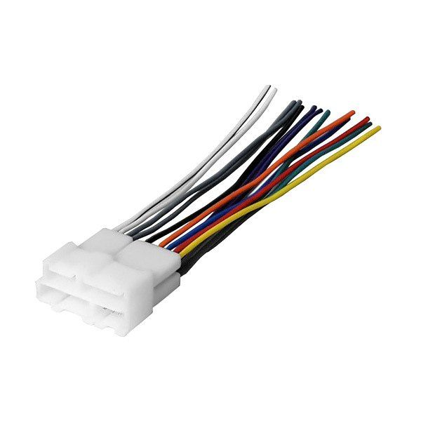 American International Gwh344 Aftermarket Radio Wiring Harness With Oem Plug Mobile Electronics Wire Harness