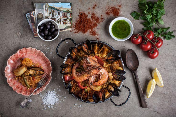Seafood Paella @ten22bv