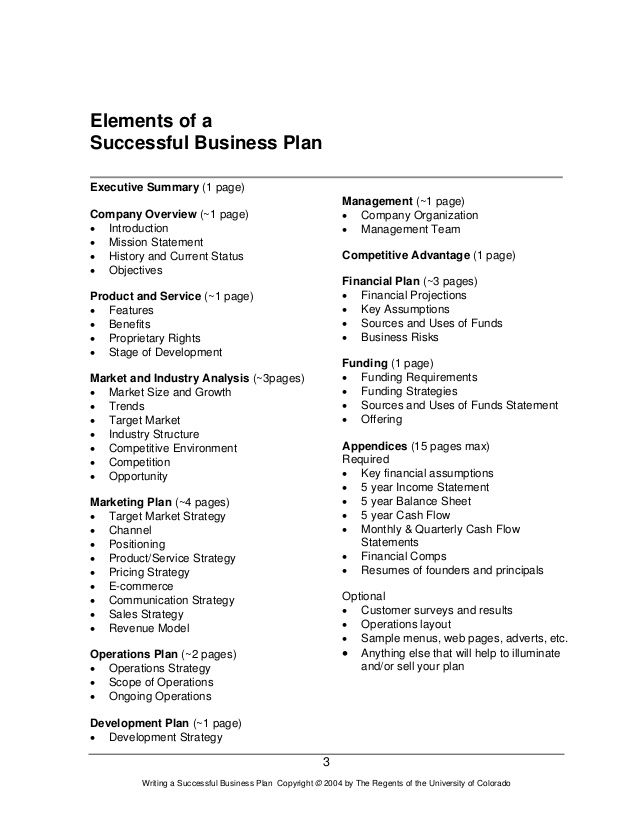 Help writing my business plan