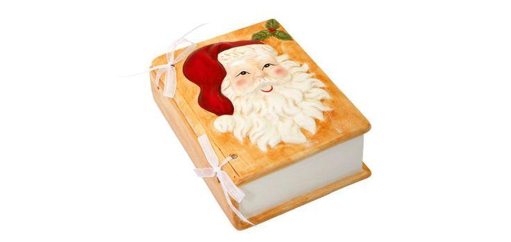 Box-Home • Διακοσμητικό Κουτί / Βιβλίο Santa