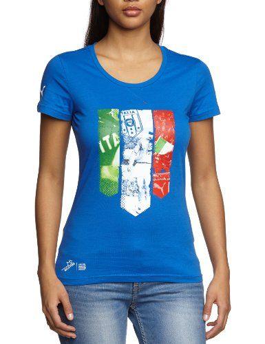 PUMA- Camiseta de la marca con la bandera de Italia #camiseta #friki #moda #regalo