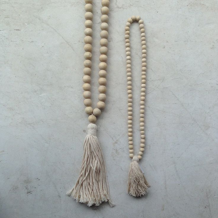Necklace Asha Wooden Beaded