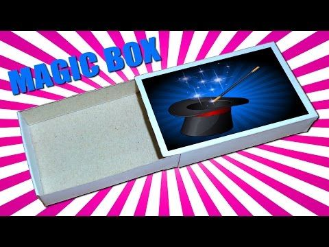 How to Make Paper Magic Box || Magic Tricks For Kids and Your Friends . - YouTube