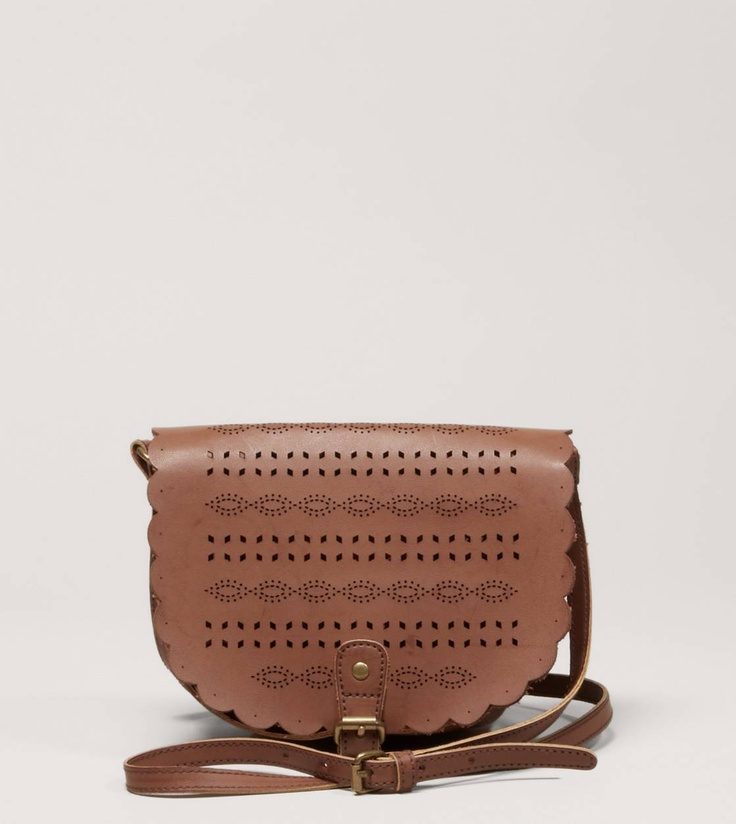 Top off your look with the AEO Perforated Crossbody Bag
