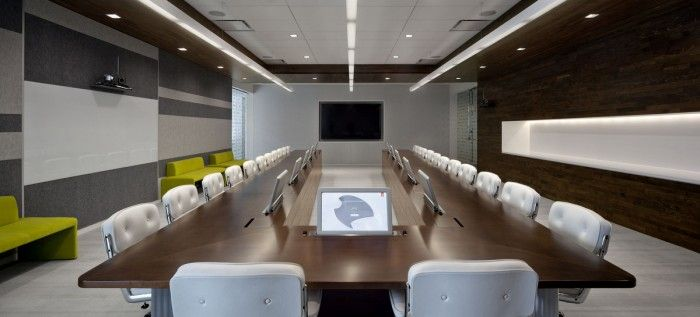 Conference table at Adobe Headquarters- San Jose, CA