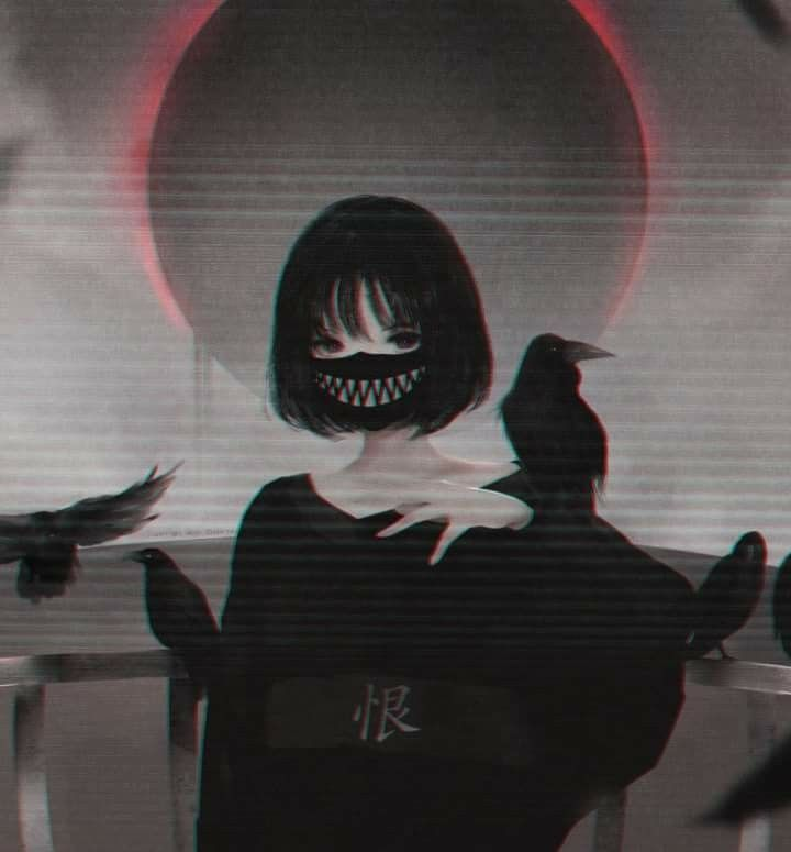 Possessive Waifu | Nghệ thuật anime em 2019 | Anime escuro, Anime
