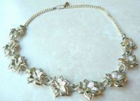 Vintage Maple Leaf Necklace