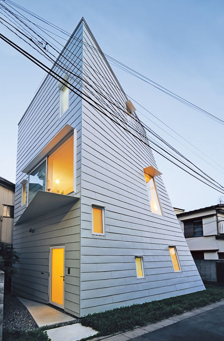 Check out Creative Review for some of Japan's creative housing designs!