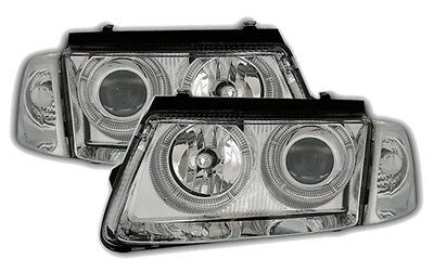 #Crystal angel eye #headlights #headlamps for vw passat 3b 10/96-10/00 nice gift,  View more on the LINK: http://www.zeppy.io/product/gb/2/331741314673/