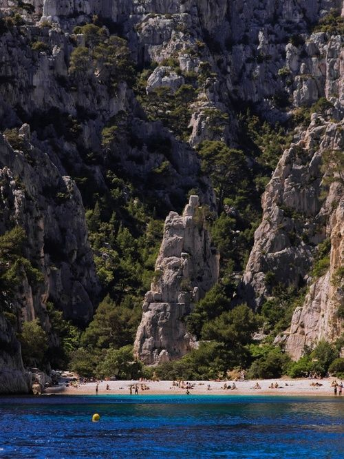 Calanques in Cassis, France. photo amy coady