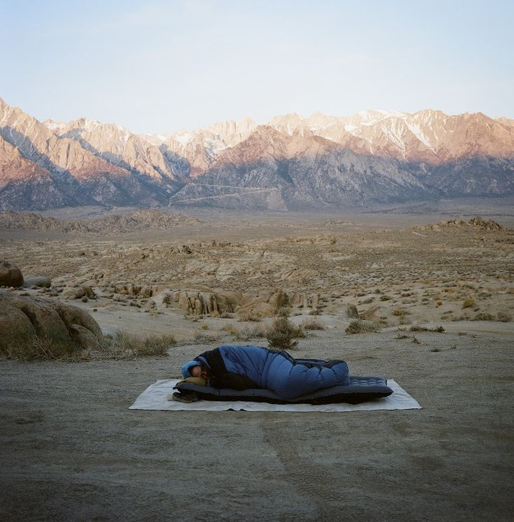 Asleep in the Alabama Hills. Photo by Foster Huntington.