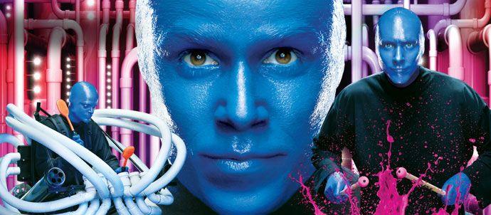 Blue Man Group at Universal Orlando Resort!